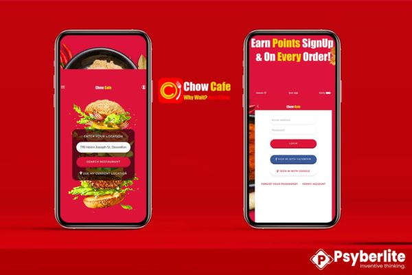 Chow Cafe - Food Ordering App