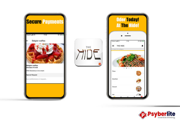 The Hide - Restaurant App